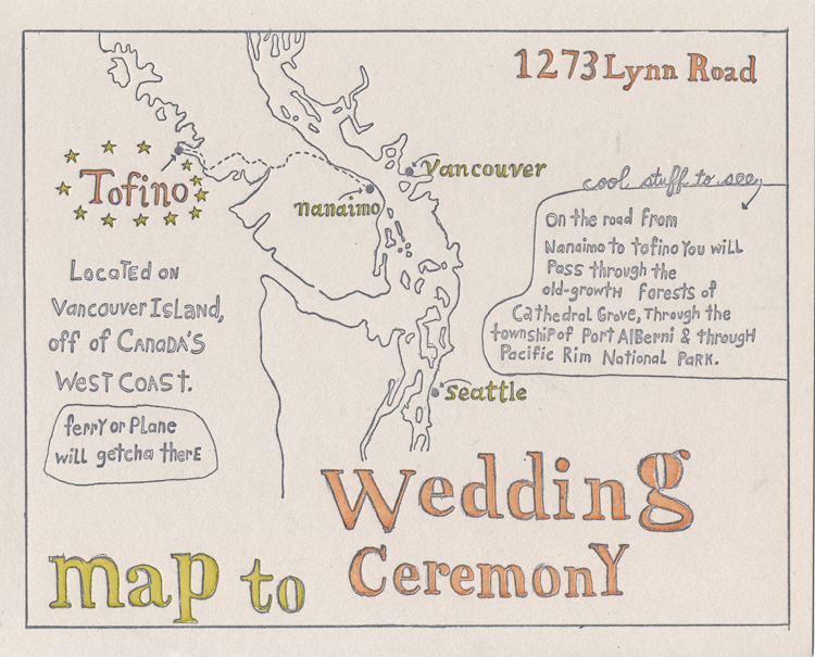 Wedding Invite Map for best invitation example